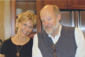 Dr. James Wickless and wife, Mimi. Both are clients of Pilates Method